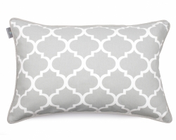 CLOVER 40x60cm grey decorative pillowcase