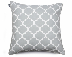 CLOVER 60x60cm grey decorative pillowcase