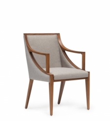 TOUR armchair upholstered