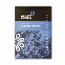 FROSTED FOREST fragrance sachet