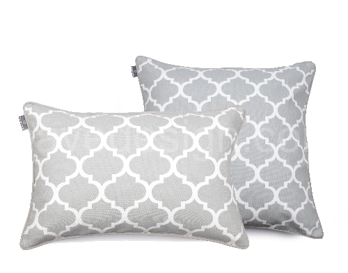 CLOVER grey decorative pillowcase